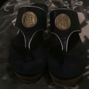 Sz 10 M Timmy Hilfiger Sandals worn once